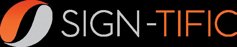 Sign-Tific Logo Silver Orange