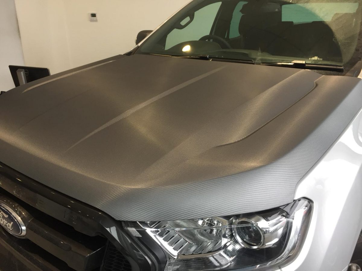 Ford Ranger Carbon Fibre Bonnet Wrap