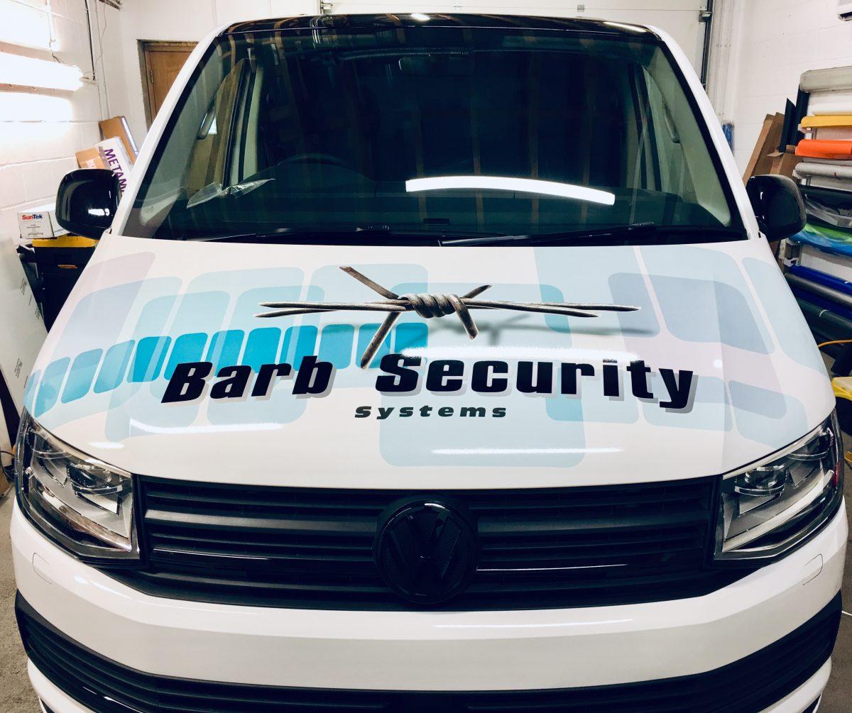 Barb Security VW Transporter Bonnet Wrap