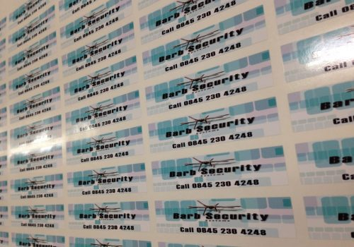 Barb Security Stickers