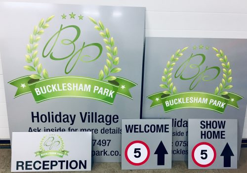 Bucklesham Park Signs