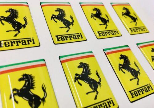 Ferrari Domed Sticker