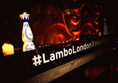 Lambo Party DJ Booth