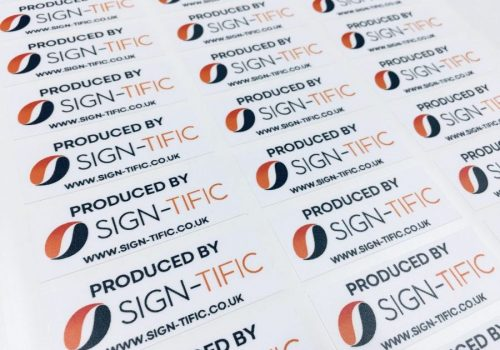 Sign-Tific Product Stickers